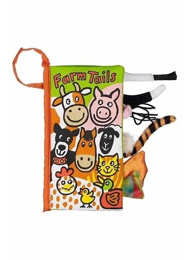 Jelly Cat Jellycat Bez Kitap/Farm Tails Renkli